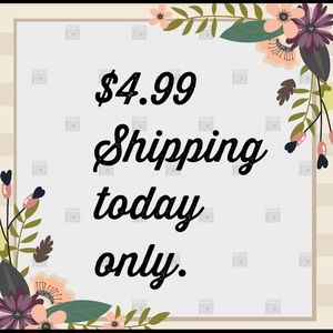 Get lower shipping fee on your likes 😍